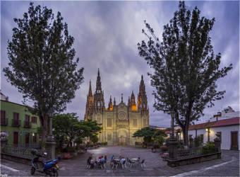 San Juan Bautista Church by Kaslito
