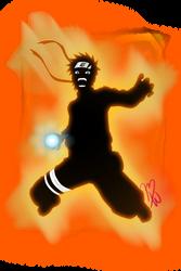 Naruto Uzumaki - Rasengan! by MinsunWon