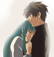 Chidori and Sousuke by Rydin