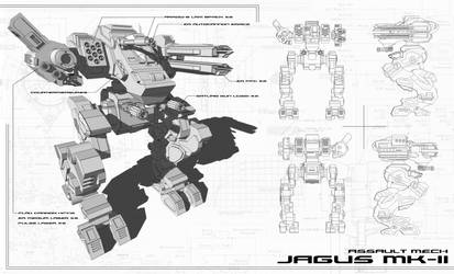 Jagus MK-II by stavrozinio
