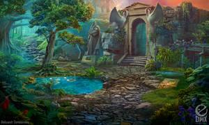 Swamp - game scene by aleksandr-osm