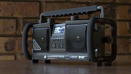 Digital Radio by Ozzik-3d