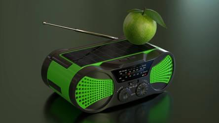 Solar Radio by Ozzik-3d