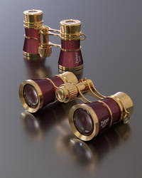 Opera glasses by Ozzik-3d