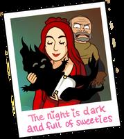 The Night is Cute (Game of Thrones Spoilers) by Batata-Tasha