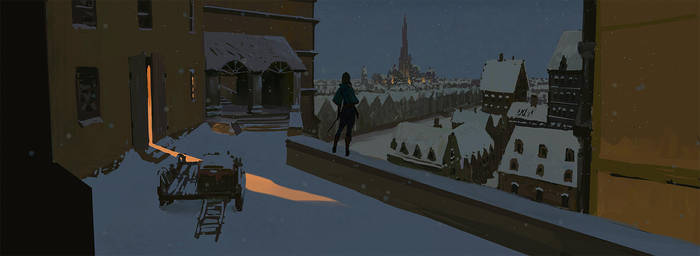 Winter Town by Gunzfree