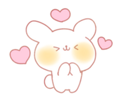 Bunny Emoji - (Hnng Heart Kawaii) [PMotes] by Jerikuto