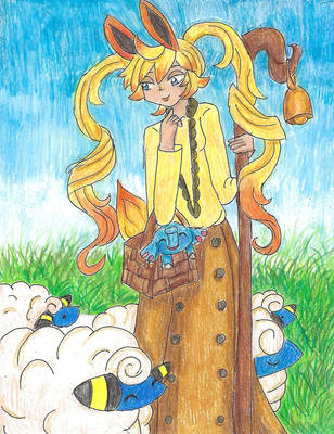 PW Art Trade: Evelyn by Sakurarmarie