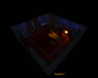 3D Tenebrae House - Ultima 8 Pagan by TheodenN