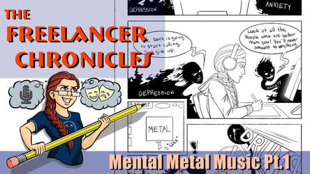 Mental Metal Music Mini-Comic Part 1 by BrittanyMichel