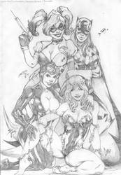 Gotham Girls by CaioMarcus-ART