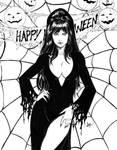 Elvira Mistress Of The Dark by CaioMarcus-ART