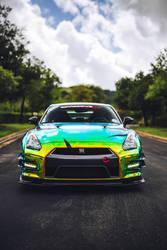 xX GTR Nissan Flip Paint Xx by stunt202