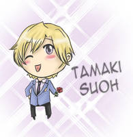 Tamaki Suoh : Ouran Host Club by fruits-basket-head