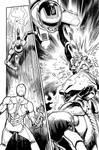 Iron man vs Jaspion page 3 by kikomauriz