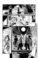 Siren Await - ink by kikomauriz