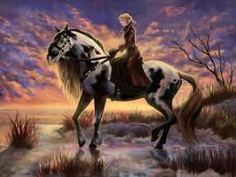 Riding by Leysi
