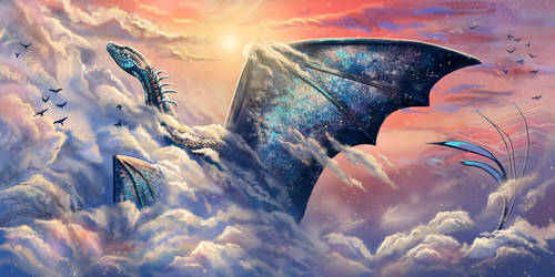 Sky dragon by Leysi