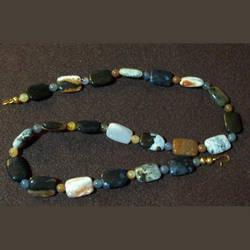 Montana Agate Necklace by KaraOhki