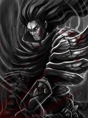Yasuo Bloody Wind by dream-iris