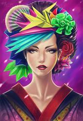 Geisha Concept by dream-iris