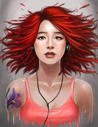 Simply Red by dream-iris