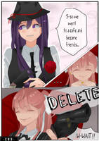 Mafia DDLC Blackmailer Yuri [short comic #8] by rrkkrkrr