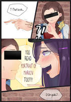 Mafia DDLC Blackmailer Yuri [short comic #7] by rrkkrkrr