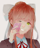 Doki Doki Crying Club lEaDeR by rrkkrkrr