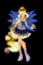 [WC][COM]:Luminara Butterflix by salenaYT