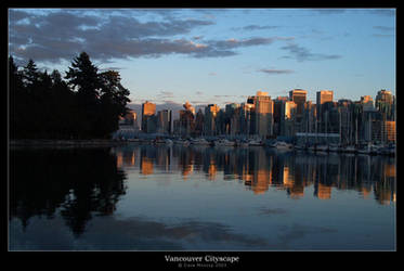 Vancouver Cityscape by d-a-v-i-s