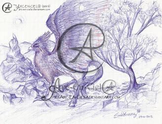 Doodles : Hippogriffe by Arc-En-Ciela