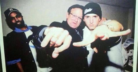 For Robin Williams ( Eminem and Robin Williams) by Arash0098