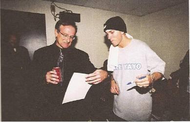 For Robin Williams ( Eminem and Robin Williams) 2 by Arash0098