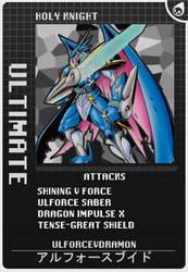 Digimon Card Sample by vmlujan