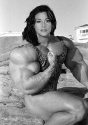 Monica Bellucci's sexy muscles by saitta4
