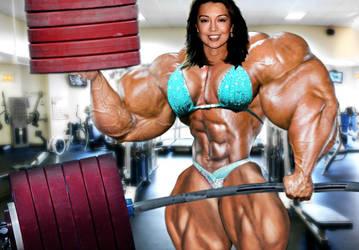 Ming Na Wen titanic superwoman by saitta4