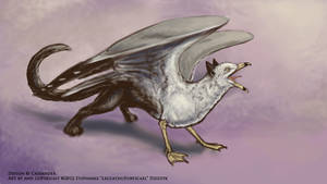 Gryphon concept sketch by LeccathuFurvicael