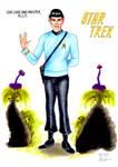 Cmdr. Spock by DerRauber