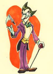 The Joker Tezuka style by MatthiusMonkey