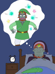 Ganondorf nightmare by oscar-ojisan