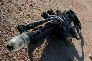 Fallout 3:  Plasma Rifle 2 by Darksamu