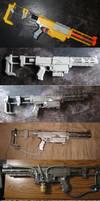 Plasma Rifle Progression by Darksamu