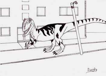 City Allosaur by DinoR9