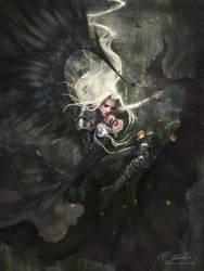 Sephiroth: Oedipus (FFVII) by artofelaineho