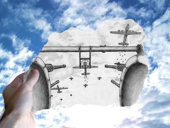 Air Raid! by lordcemonur
