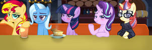 |MLP|Twilight Sparkle and her friends by Herbro666