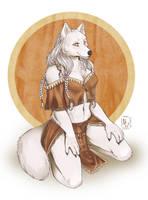 Pin-up commission: Maiara by WhiteMantisArt