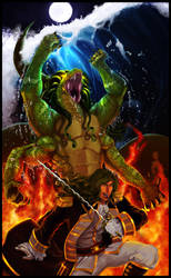 Epifania: General Leviathan by WhiteMantisArt