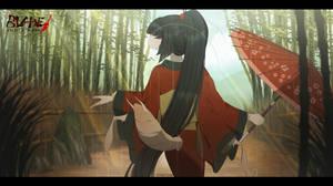 Blade Under Mask: Warm Sun, Pleasant Rain by WhiteMantisArt
